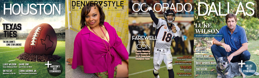 FEATURED IN THESE MAGAZINES